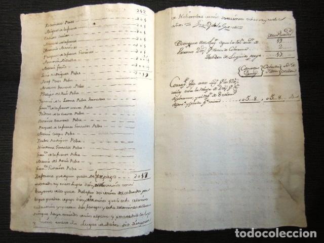 Manuscritos antiguos: AÑO 1789. SIERO DE LA REINA (LEÓN). MEMORIAL JURADO AL MARQUÉS DE VALVERDE CON POBRES Y NOBLES. - Foto 2 - 76212223