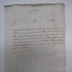 Manuscritos antiguos: MANUSCRITO S. XVII (1611) TRASLADO AUTORIZANDO ESCRITURA.MARQUES DE GUADALCAZAR ,FERNADEZ DE CORDOBA. Lote 278325773