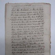 Manuscritos antiguos - DOCMENTO MANUSCRITO -TESTAMENTO EN LA VILLA DE SANTESTEBAN (NAVARRA) AÑO 1804.TESTAMENTO.... - 76366451