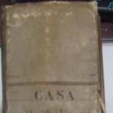 Manuscritos antiguos: MANUSCRITO MADRID: CASA CALLE DEL FUCAR Nº 5 MAS DE 400 FOLIOS S. XVII, XVIII Y XIX. PERGAMINO. Lote 77006249