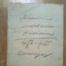 Manuscritos antiguos: IMPORTANTE MANUSCRITO DE CAUDETE AGUAS DISPOSICION CONCESION CAUDETE 1938 POR M CONEJERO BLANCO. Lote 42721488