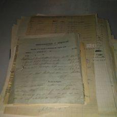 Manuscritos antiguos: GRAN LOTE CORRESPONDENCIA MANUSCRITA COMERCIAL FABRICA LICORES . CAMPO DE MIRRA DE 1913 A 1919. Lote 80390630