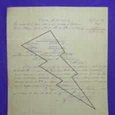 Manuscritos antiguos: MANUSCRITO DE 1898 DE LAS CUENTAS DE LAS PROPIEDADES DEL MARQUES DE GRAÑINA EN ALMENAR, SORIA. Lote 80897863