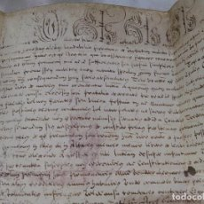 Manuscritos antiguos: BULA PAPAL. MANUSCRITO SOBRE PERGAMINO SIGLO XVII. Lote 81157252