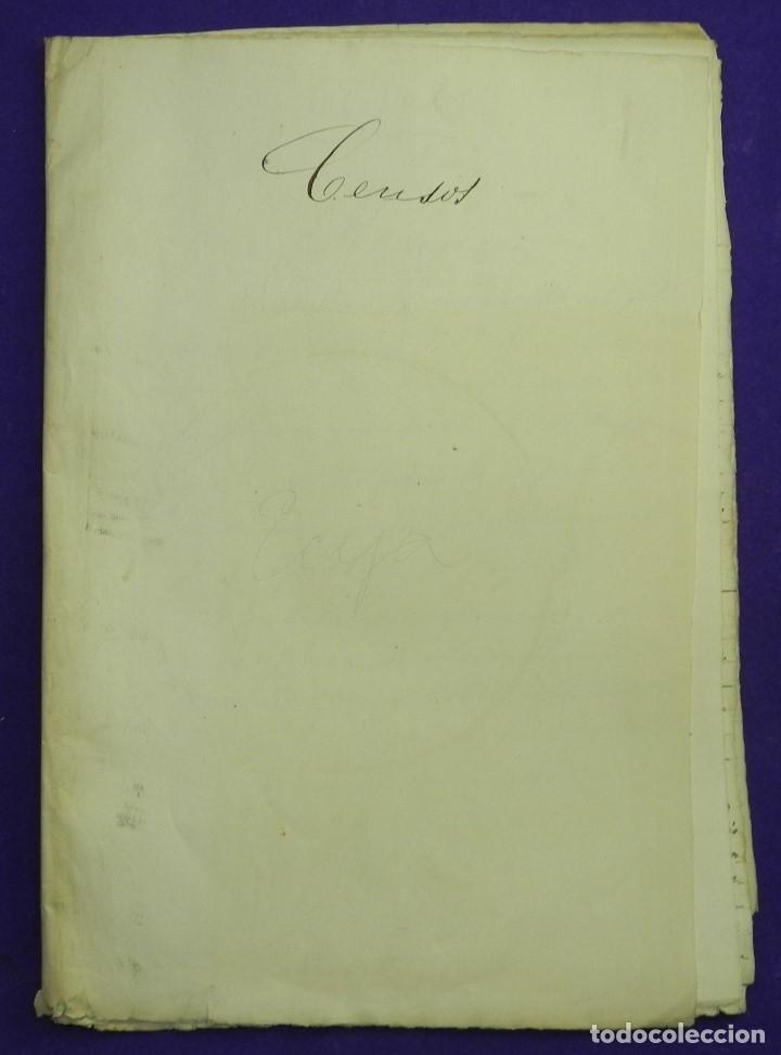 1897. DOS CENSOS DEL MARQUES DE GRANINA A PARROQUIA DE SANTAMARIA DE ECIJA Y CONVENTO DE SAN AGUSTIN (Coleccionismo - Documentos - Manuscritos)