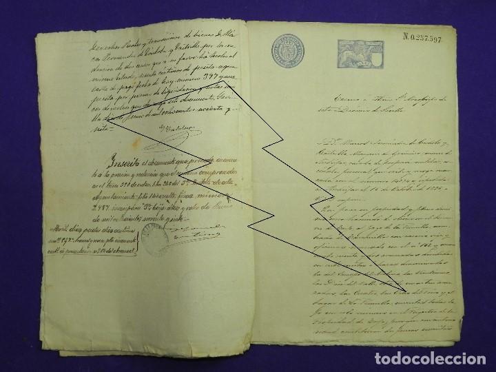 Manuscritos antiguos: 1897. DOS CENSOS DEL MARQUES DE GRANINA A PARROQUIA DE SANTAMARIA DE ECIJA Y CONVENTO DE SAN AGUSTIN - Foto 4 - 191239271