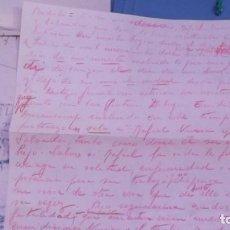 Manuscritos antiguos: PINTOR RAFAEL DURANCAMPS - MEMORIAS MANUSCRITOS ORIGINALES Y UNICOS, OTROS MECANOGRAFIADOS SABADELL. Lote 81557500