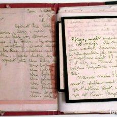 Manuscritos antiguos: PINTOR RAFAEL DURANCAMPS - CARPETA CON 30 DOCUMENTOS DIFERENTES DESDE 1920 (SABADELL). Lote 81559148