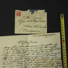Manuscritos antiguos: DOCUMENTO CARTA DE LA SELVA DEL CAMP, TARRAGONA. 1935-9-18. Lote 81721728