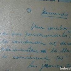 Manuscritos antiguos: ANTIGUO MANUSCRITO ORIGINAL POEMA EN PROSA RECUERDO 1959. Lote 58041133