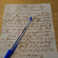 Manuscritos antiguos: CARTA MANUEL FERREROS, GRANADA AÑO 1830.. Lote 84330591