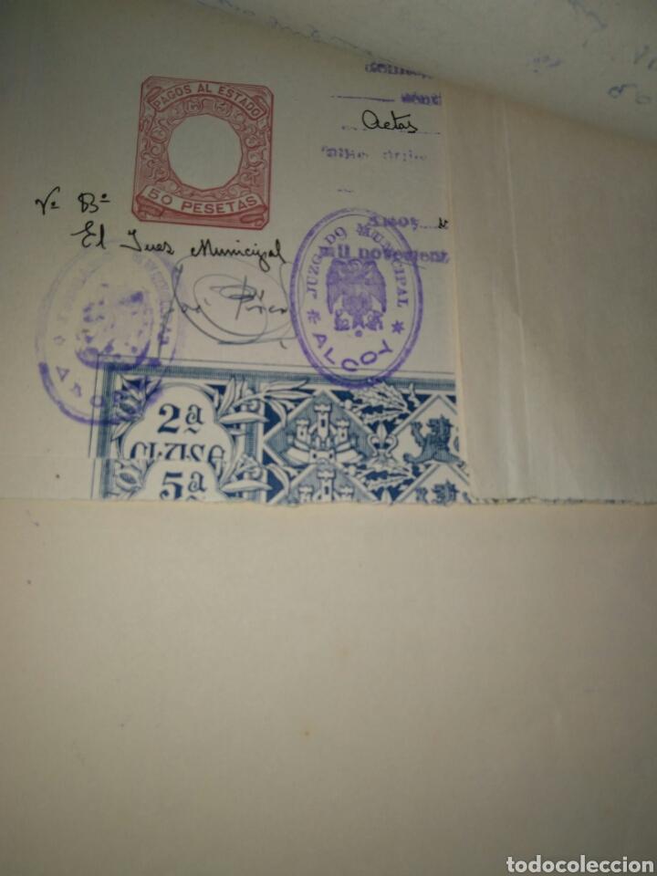 Manuscritos antiguos: LIBRO DE ACTAS MANUSCRITO 1960 DE LA COMUNIDAD DE REGANTES RIEGO NUEVO DEL MOLINAR ALCOY !!ÚNICO!! - Foto 3 - 84529627