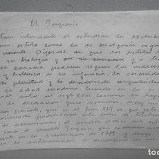 Manuscritos antiguos: ARTÍCULO MANUSCRITO ORIGINAL DEL MARQUÉS DE LOZOYA TITULADO EL IMPERIO (14 HOJAS). FIRMADO. Lote 84666872
