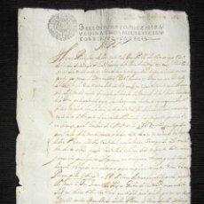 Manuscritos antiguos: AÑO 1696, MADRID. DON PABLO DE SAMANIEGO, CABALLERO DE LA ORDEN DE SANTIAGO EN PLEITO CONTRA FISCAL. Lote 84690444
