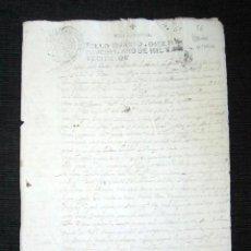 Manuscritos antiguos: AÑO 1700, SANTO DOMINGO DE LA CALZADA. LOGROÑO. PLEITO MARQUESA DE VILLAVENAZAR. 2.974 REALES. . Lote 84793660