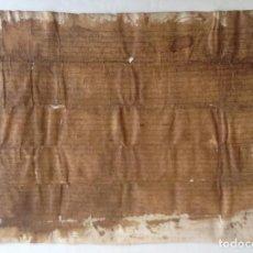 Manuscritos antiguos: AÑO 1362 PERGAMINO MEDIEVAL TEÑIDO * CASTILLO DE RUPIA BAIX EMPORDA FONOLLERES * 55 CM. Lote 85144136