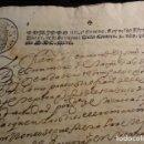 Manuscritos antiguos: TIMBRE FISCAL DE 1637 PRIMER AÑO. Lote 86148372