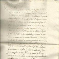 Manuscritos antiguos: COPIA DE CARTA FERNANDO VII. Lote 86242960