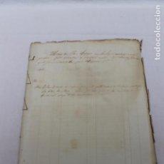 Manuscritos antiguos: DESAMORTIZACION DE MENDIZABAL, 1842, 1849, VALENCIA. Lote 86273656