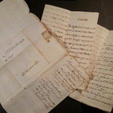 Manuscritos antiguos: 1790 CARTA DEL CAPITÁN GENERAL DE VALENCIA PREFILATELIA. Lote 87491328