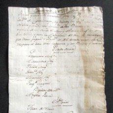Manuscritos antiguos: AÑO 1789. CAMINAYO, LEÓN. LISTA VECINOS QUE DEBEN PAGAR SESTERO AL MARQUÉS DE VALVERDE, REGIDOR. . Lote 87622828