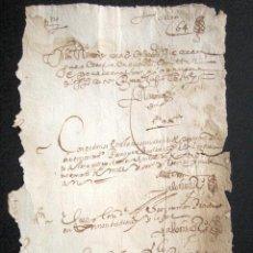 Manuscritos antiguos: AÑO 1629. TORO, ZAMORA. BONITO DOCUMENTO JUDICIAL. . Lote 87623864