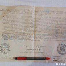 Manuscritos antiguos: ANTIGUO DOCUMENTO PAGO DE LAS GULAS (TOLEDO). Lote 88693776