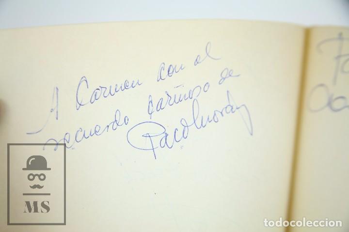 Manuscritos antiguos: Libreta de los Años 60 con Multitud de Autógrafos de Artistas y Jugadores de Fútbol de la Época - Foto 9 - 90522625