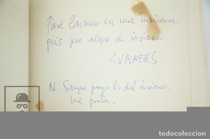 Manuscritos antiguos: Libreta de los Años 60 con Multitud de Autógrafos de Artistas y Jugadores de Fútbol de la Época - Foto 17 - 90522625