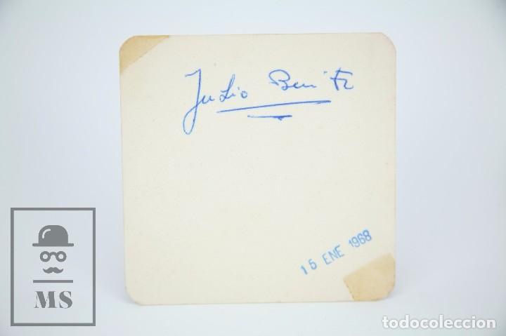 Manuscritos antiguos: Libreta de los Años 60 con Multitud de Autógrafos de Artistas y Jugadores de Fútbol de la Época - Foto 23 - 90522625