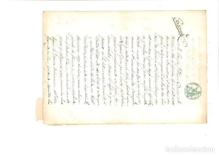 PODER NOTARIAL CIUDAD DE LA HABANA 1866 (Coleccionismo - Documentos - Manuscritos)
