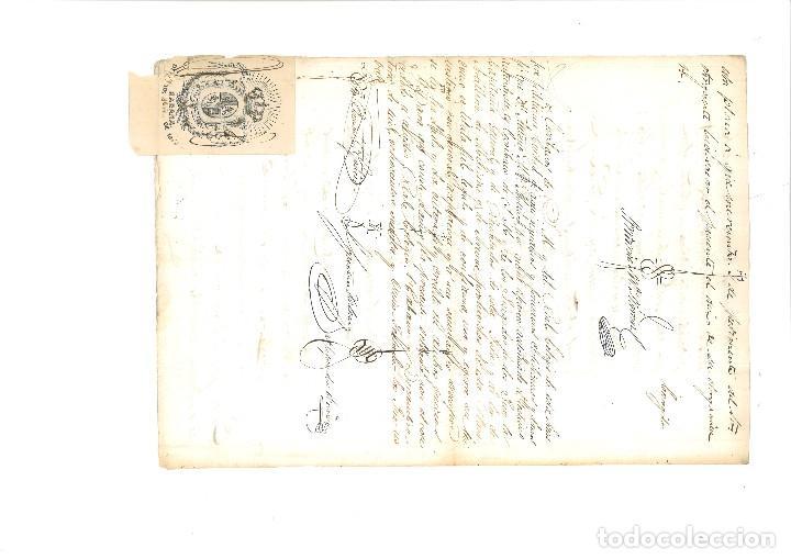 Manuscritos antiguos: PODER NOTARIAL CIUDAD DE LA HABANA 1866 - Foto 2 - 90648680