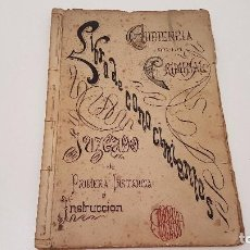 Manuscritos antiguos: LIBRO MANUSCRITO DE CONOCIMIENTOS, PROCURADOR 1905 (GIRONA). Lote 90654415