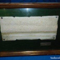 Manuscritos antiguos: (M) PERGAMINO FELIPE II - PERGAMINO MANUSCRITO FELI II 1562 , TEMA AGRICOLA VILA NERIA. Lote 90991215