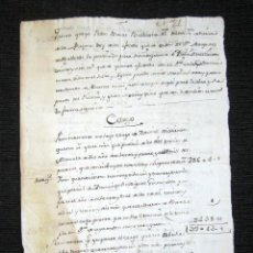 Manuscritos antiguos: AÑO 1785. BOCA DE HUERGANO. LEÓN. GASTOS PAN Y VINO, REPARACIÓN DEL PALACIO DEL MARQUÉS DE VALVERDE. Lote 93896580