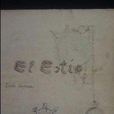 Manuscritos antiguos: BENAVENTE ZAMORA 1901 .EL ESTIO MANUSCRITO CURIOSIDADES DE BENAVENTE FOTOS ESCRITORES PALACIO RAMOS. Lote 94314610
