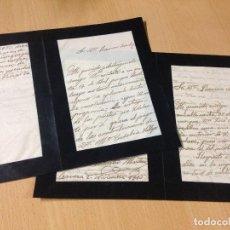 Manuscritos antiguos: ANTIGUAS CARTAS MANUSCRITAS CERVERA 1913. Lote 94430958