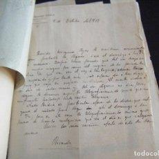 Manuscritos antiguos: JML COPIADOR CARTAS CORRESPONDENCIA ENTRE HERMANOS DE 1912 A 1913 MADRID A H. OVERA ALMERIA. VER . Lote 96188383