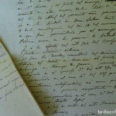 Manuscritos antiguos: ACUSACIÓN DESERCIÓN KABILA BENI SALEM TETUAN 1916, REGIMIENTO VAD RAS. Lote 97489127