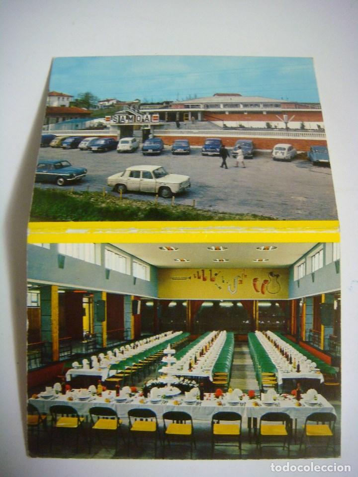 Manuscritos antiguos: INVITACION DE BODA ALMUERZO SALA DE FIESTA SAMOA SANTOVENIA VALLADOLID (#) - Foto 2 - 97526311