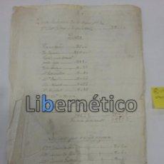 Manuscritos antiguos: MANUSCRITO. ESCRITURA ABONO DE TESTAMENTO. ÚBEDA 1831. Lote 97793799