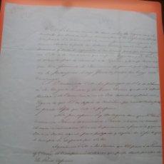 Manuscritos antiguos: CARLISMO GUERRAS CARLISTAS EVASIÓN CONDE MONTEMOLÍN CARLOS VI CARLISTA PRETENDIENTE 1846 MATINERS. Lote 99213475