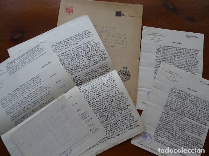 MARQUÉS DE CENETE, LOTE SOBRE FUNDACIÓN CON LA ARCHICOFRADÍA SACRAMENTAL EN SAN ISIDRO, MADRID (Coleccionismo - Documentos - Manuscritos)