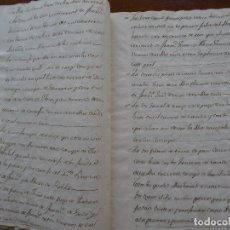 Manuscritos antiguos: BAZA, GRANADA, TRASLADO SIMPLE 1586 VENTA CORTIJO, CASAS, HUERTAS, CENSOS, VALOR 3900 DUCADOS ORO. Lote 99740415