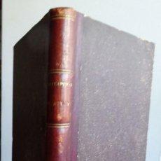 Manuscritos antiguos: EL MANDO MILITAR, CAPITÁN ANTONIO VÁZQUEZ VERDEJO, 1885, 190 PAGS APROX. Lote 99987267