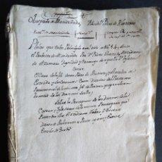 Manuscritos antiguos: GALICIA.LUGO.MANUSCRITO.'PLEITO DEL OBISPADO DE MONDOÑEDO CONTRA EL CURA DE RIOTORTO' 1614. Lote 102536187