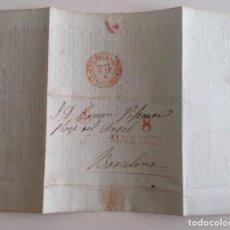 Manuscritos antiguos: MALLORCA 1841 CARTA MANUSCRITA DEL IMPRESOR PEDRO JOSE GELABERT A PIFERRER * COMPRA PRENSA IMPRENTA. Lote 103216019
