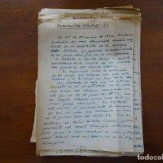 Manuscritos antiguos: DEPORTES, CURIOSAS Y AMENAS RETROSPECTIVAS OLÍMPICAS, 25 CARILLAS, HASTA LONDRES 1948. Lote 104895415