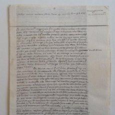 Manuscritos antiguos: CA. 1800 * SERMON MANUSCRITO EN LETRA DIMINUTA * 8 PAGINAS. Lote 105324659
