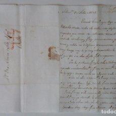 Manuscritos antiguos: SALAMANCA 1832 * CARTA A CADIZ * JEFES MILITARES SE AGRUPAN EN SALAMANCA * SITIO DE OPORTO PORTUGAL. Lote 105332715